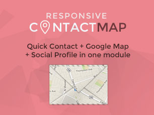 Responsive Contact With Google Map