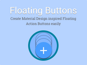 Simple Floating Buttons