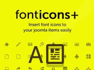 Fonticons Plus