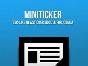MiniTicker Module