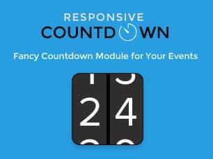 Responsive Countdown