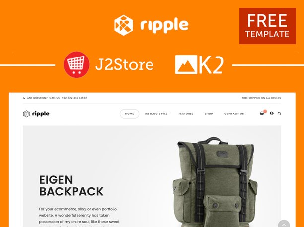 Ripple Free E-commerce Template
